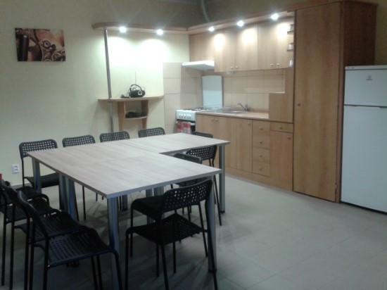 Kuchynka v apartmáne